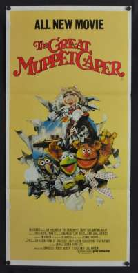 The Great Muppet Caper Poster Original Daybill 1981 Jim Henson John Cleese