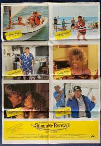 Summer Rental John Candy Carl Reiner Photosheet movie poster