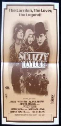 Squizzy Taylor movie poster 1982 David Atkins Jackie Weaver Daybill