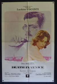 Death In Venice Poster Original USA International One Sheet 1971 Dirk Bogarde