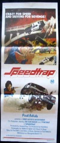 Speed Trap Daybill Movie poster