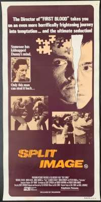 Split Image Poster Original Daybill Rolled NEVER Folded 1982 Captured Karen Allen