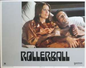 Rollerball 1975 Lobby Card Original USA 11 x 14 No 5 James Cann