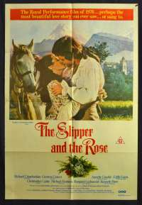 The Slipper And The Rose Movie Poster Original One Sheet Richard Chamberlain