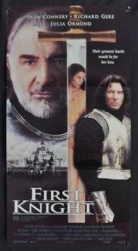 First Knight Movie Poster Original Daybill 1995 Sean Connery Richard Gere King Arthur