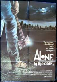 Alone In The Dark One Sheet Australian Movie poster