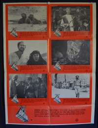Monty Python's Life Of Brian 1979 Australian Photosheet movie poster