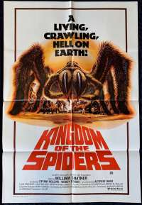 Kingdom Of The Spiders One Sheet Australian Movie poster