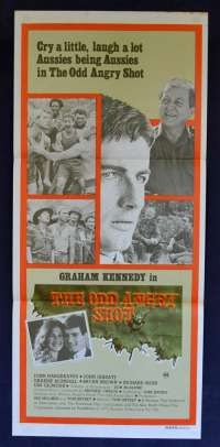 The Odd Angry Shot Poster Original Daybill 1979 John Jarrattt Vietnam