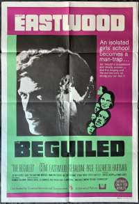 The Beguiled Poster Original One Sheet 1971 Clint Eastwood Geraldine Page