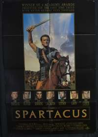 Spartacus 1960 One Sheet movie poster USA 1991 RI Kirk Douglas Stanley Kubrick