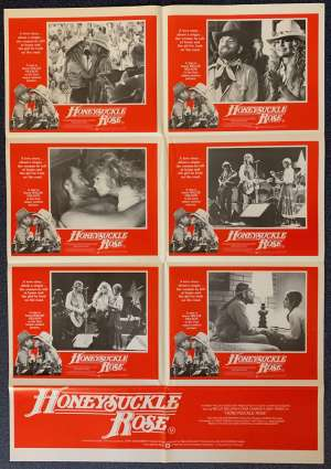 Honeysuckle Rose Poster Original Photosheet 1980 Willie Nelson On The Road Again