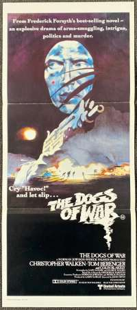 The Dogs Of War Poster Original Daybill Christopher Walken Tom Berenger