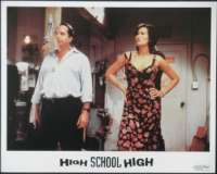 High School High Lobby Card