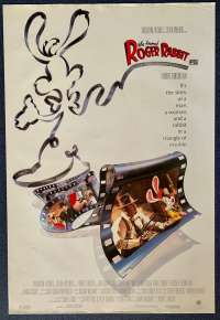 Who Framed Roger Rabbit Poster Original USA One Sheet Rolled 1988 Bob Hoskins