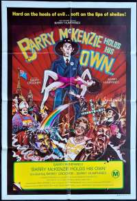 Barry McKenzie Holds His Own Poster Original One Sheet 1974 Dame Edna