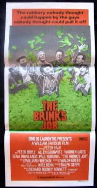 Brink's Job, The Daybill Movie poster