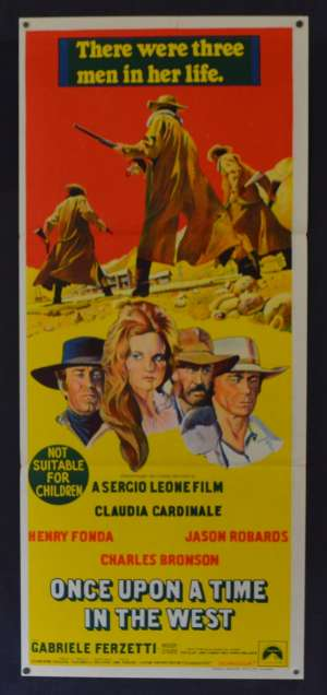 Once Upon A Time In The West 1968 Daybill Movie Poster Henry Fonda Sergio Leone