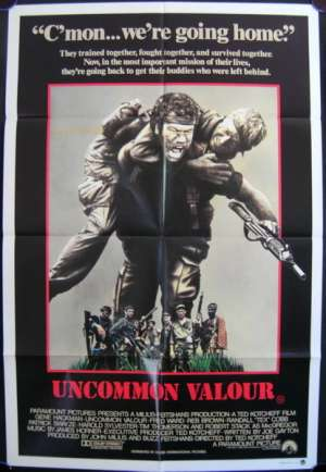 Uncommon Valour One Sheet Australian Movie poster