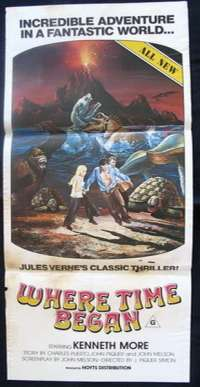 Where Time Began Daybill Movie poster