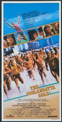 The Coolangatta Gold Poster Original Daybill 1984 Colin Friels Ironman