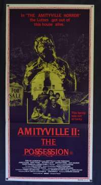 Amityville II: The Possession Daybill Movie poster