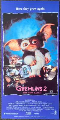 Gremlins 2 The New Batch Poster Original Daybill 1990 Phoebe Cates