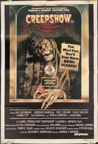 Creepshow 1982 One Sheet movie poster George A Romero Stephen King