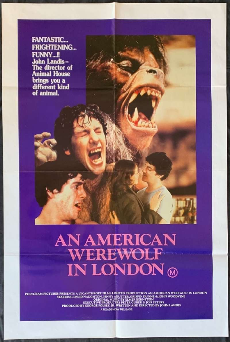 Click For Supersize Image An American Werewolf In London Movie Poster