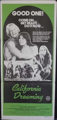 California Dreaming Daybill Movie poster