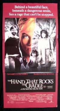 The Hand That Rocks The Cradle Poster Daybill Rebecca De Mornay