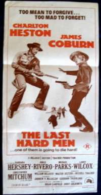 Last Hard Men Daybill Movie poster