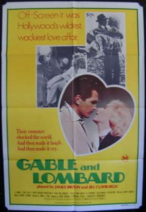 Gable And Lombard One Sheet Australian Movie poster