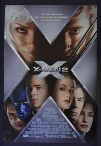 X-Men 2 Poster Original USA One Sheet Style C 2003 Hugh Jackman Superhero