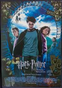 Harry Potter And The Prisoner Of Azkaban Poster Original One Sheet Rolled