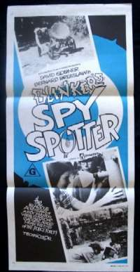 Blinker's Spy Spotter Daybill Movie poster