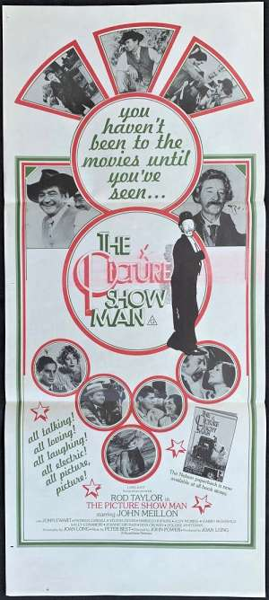 The Picture Show Man Poster Original Daybill 1977 John Meillon Rod Taylor