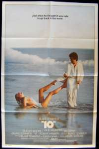 10 One Sheet movie poster different art Bo Derek Dudley Moore