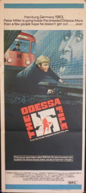 The Odessa File Poster Jon Voight Australian Daybill Movie poster