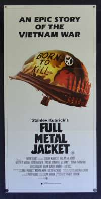 Full Metal Jacket Movie Poster Original Daybill 1987 Vietnam Stanley Kubrick