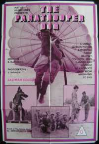 Paratrooper Pog, The One Sheet Australian Movie poster