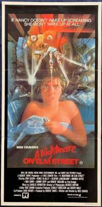 A Nightmare On Elm Street 1984 Daybill movie poster Johnny Depp Wes Craven