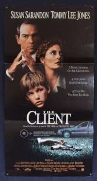 The Client 1994 Daybill movie poster Susan Sarandon Tommy Lee Jones
