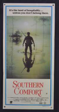 Southern Comfort Poster Keith Carradine Walter Hill Australian Daybill Movie poster