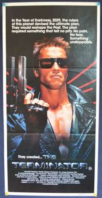 Terminator Daybill Movie Poster