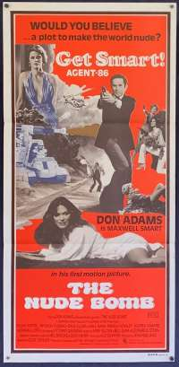The Nude Bomb 1980 Don Adams Get Smart Daybill movie poster