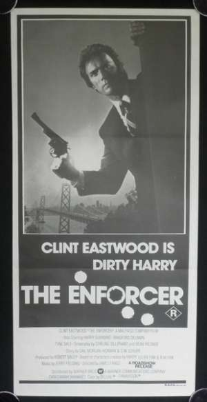 The Enforcer Poster Original Daybill 1976 Clint Eastwood Dirty Harry