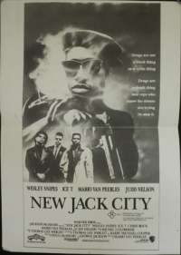 New Jack City Daybill Movie poster