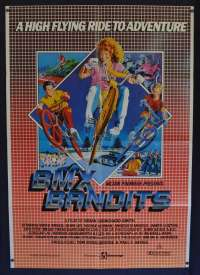 BMX Bandits 1983 One Sheet movie poster Nicole Kidman aka Short Wave