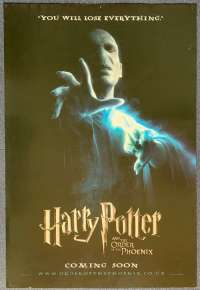 Harry Potter And The Order Of The Phoenix Poster Original UK One Sheet 2007